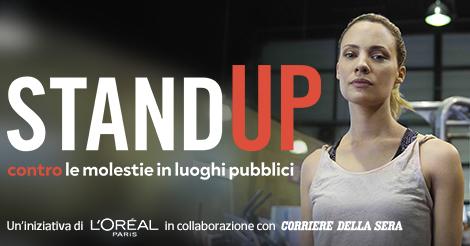 StandUP contro le molestie in luoghi pubblici - Formazione Laura Brambilla